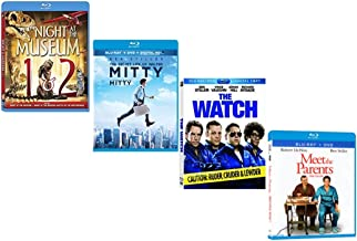 Ben Stiller Comedy 5-Movie Blu-ray Collection (The Secret Life of Walter Mitty / Meet the Parents / Night at the Museum / Night at the Museum 2 / The Watch)