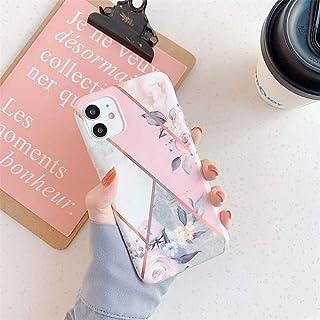 Jennyfly - Funda para iPhone 11 Pro de 15,5 pulgadas, diseño de flores de moda fina brillante y linda funda para teléfono móvil para 2019 6.5
