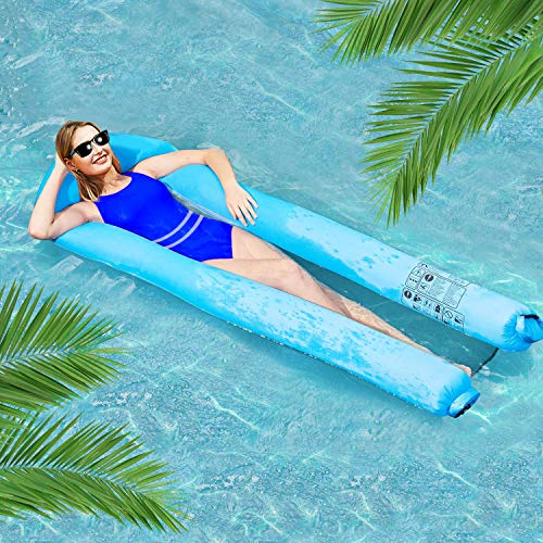 Air Sleeping Pad Selbstaufblasende leichte Isomatte für das Wandern (blue)