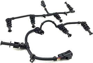 8C3Z-12A690-BA 8C3Z-12A690-AA, 6.4 Glow Plug Harness Kit for Ford F-250 F-350 F-450 F-550 Super Duty V8 6.4L Powerstroke Diesel Engine 2008-2010, Right & Left