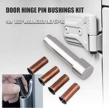 Ruien Door Hinge Pin Liners Bushings Kit for Jeep Wrangler JKU 2007-2018