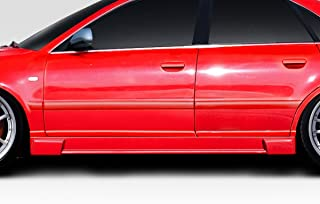 Extreme Dimensions Duraflex Replacement for 1996-2001 Audi A4 S4 B5 Version 1 Side Skirts - 2 Piece