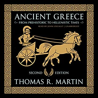 Ancient Greece, Second Edition audiobook cover art