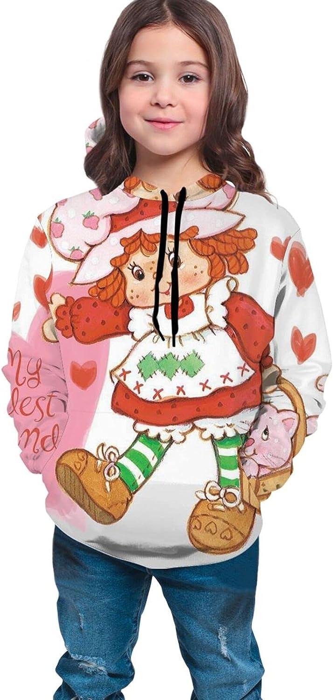 Girl Casual Sweatshirt Strawberry Shortcake  Custard Hoodie Coa