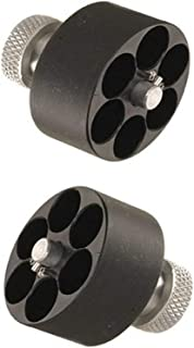 HKS 10-A Revolver Speedloader S&W 10,12,13,14,15,19,64,66,67/Taurus 606, 65, 66, 80, 82 (2-(Pack))