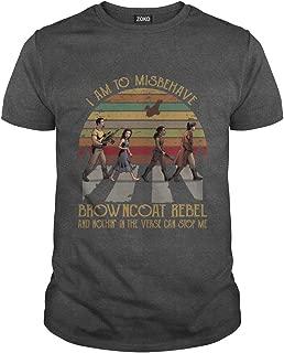 I Am to Misbehave Browncoat Rebel T-Shirt