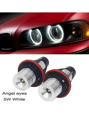 Naliovker 4X Ccfl Angel Eye Halo Led Anillo Luz Blanca No Proyector para E46 3 Series
