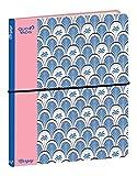 Quo Vadis 237103600NQ - Cuaderno con 21 puntos, rayas magnéticas, 15 x 21 cm, elástico