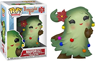 Mayor Patty Noble: Fun ko Pop! Christmas Vinyl Figure & 1 Compatible Graphic Protector Bundle (003 - 44467 - B)