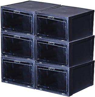 Boîte de rangement XIAOXIAO Transparente pour Acrylique Boîte À Chaussures De Rangement Antibactérien Antipoussière en Pla...