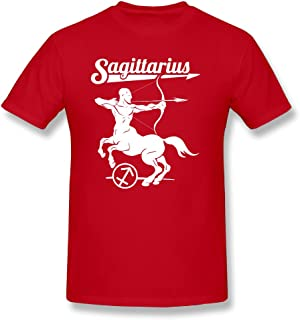 Fashion símbolo zodiacal Sagitario Astrología Sign Camiseta para hombre