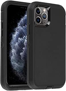 Smartelf Case for iPhone 11 Pro Max Heavy Duty Dual Layer Protective Cover Shockproof Drop Protection High Impact Resistan...