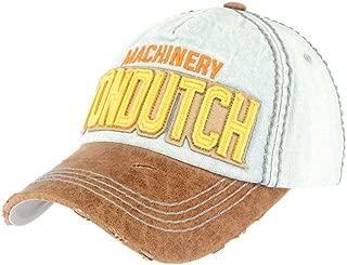 Von Dutch Dad Distressed Baseball Cap Vintage Style Unreconstructed Cotton Adjustable,Celebrities Choice