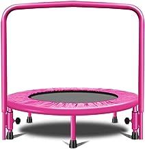 """HMBB 36""""Kids Mini Trampoline met handvat, veiligheid en duurzame peutertrampoline"""
