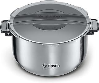 Bosch MAZ8BI Accesorio olla, 5 litros, Inoxidable, Acero y negro