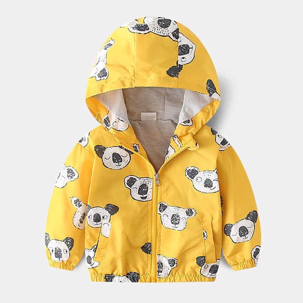 Clothing Jackets Toddler Baby Boys Girls Hooded Jacket Windbreaker ...