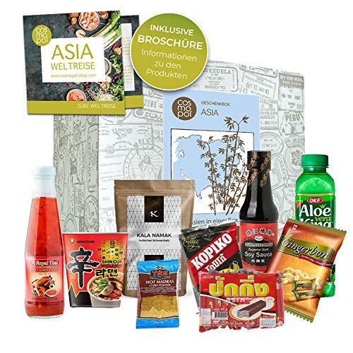 Emocionante Set de regalo 'Caja asiática' | Comida de Asia | Especias dulces gran regalo | experiencia culinaria | Caja de regalo premium | regalo de navidad