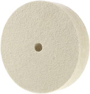 "Beautiful-tech Premium 4"" 100% Organic Wool Felt Polishing Buffing Wheel"