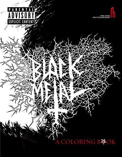 The Black Metal Coloring Book (Feral House Coloring Books for Adults)