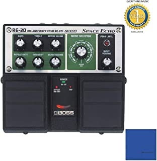 Boss RE-20 Space Echo Delay Pedal with 1 Year Free Extended Warranty