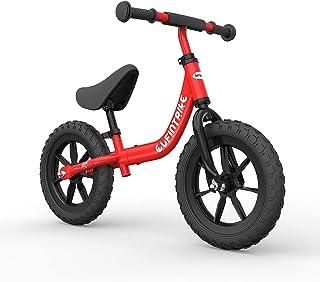 besrey Balanscykel barncykel småbarn cykel för ålder 2 3 4 5 år ingen pedalcykel småbarn och barn