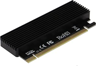 SEDNA - PCI-e 16x to M2 NVMe SSD Adapter with Heatsink Cover