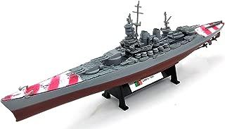 FloZ WWII Italy LITTORIO Class Navy Battleship 1/1000 DIECAST Model Ship