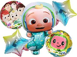 Cocomelon Foil Balloon Party Supplies Birthday Decoration Latex Balloon Kids Toy Balloon Baby Shower