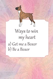 Lined Notebook: Journal With Quote About Boxers - Boxer Dog Gifts For Women (Gag Gifts)