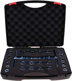 SaniMomo Bearing Installation Tool - 25Pcs Wheel Drive Bearing Removal Adapter Puller Pulley Tool Kit Case