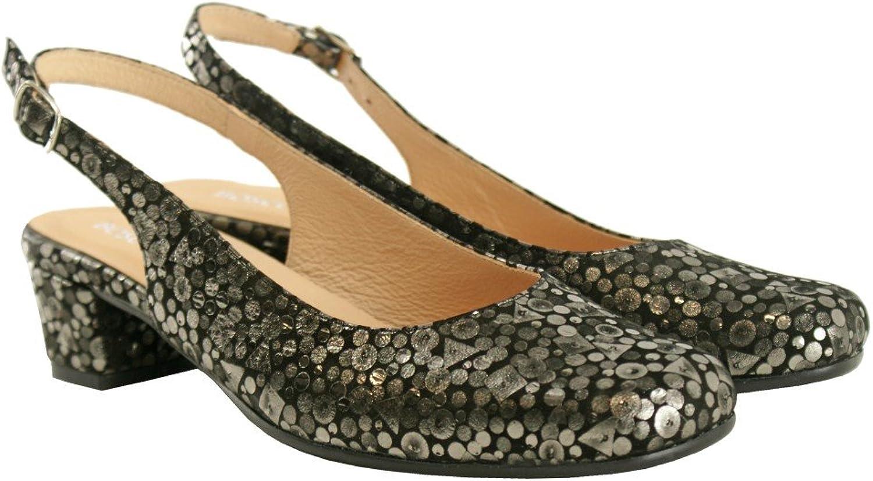 BOSCCOLO 4501-03-04 Summer Pumps, Sandals, Sandals, Low Heel, Leather  Großhandelsgeschäft