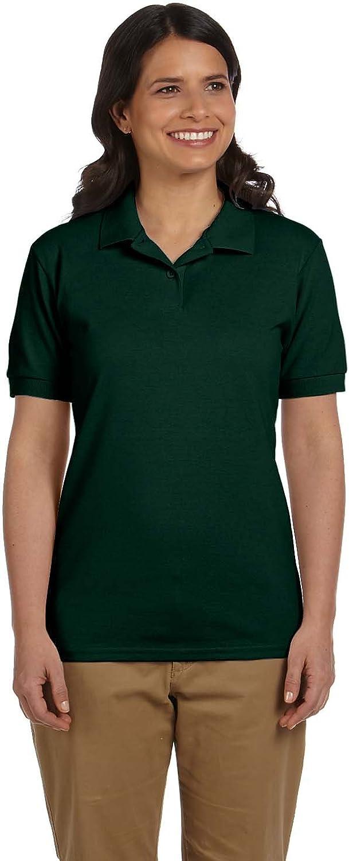 Gildan Womens 6.5 oz. DryBlend Pique Sport Shirt G948L (Pack Of 12)