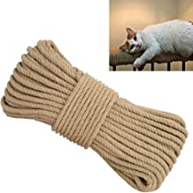 Aoneky Replacement Cat Scratching Post Sisal Rope – Hemp Rope for Cat Tree and Tower