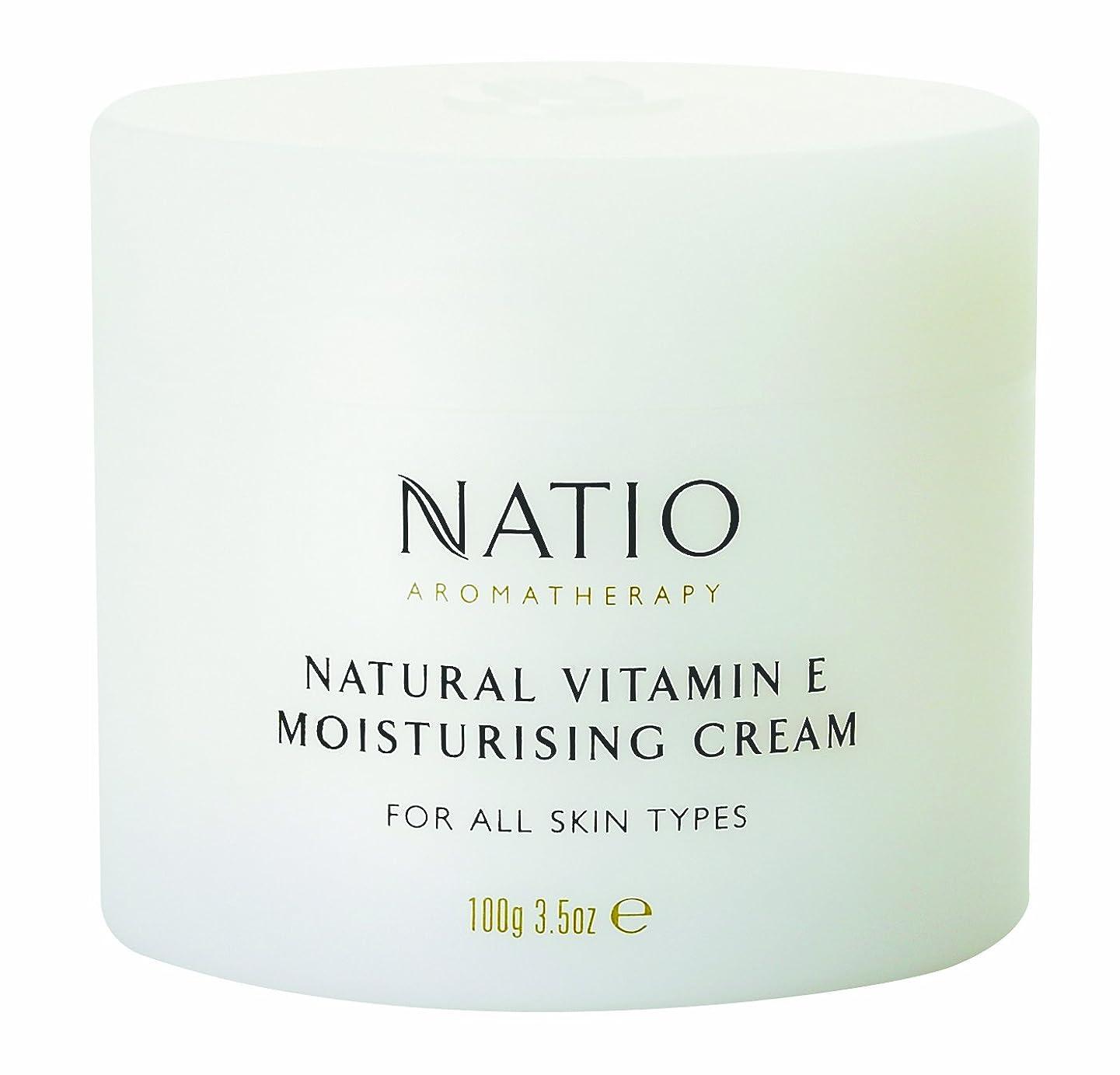 近所の暴君人Natio Aromatherapy Natural Vitamin E Moisturising Cream 100g