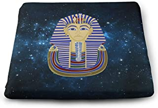 Memory Foam Pad Seat Cushion. Car Seat Cushions to Raise Height - Office Chair Comfort Cushion - King Pharaoh Tutankhamun Egypt