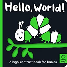 Hello World!: A high-contrast book for babies