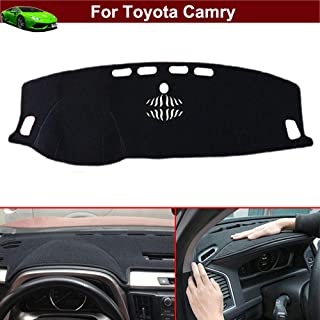 New 1pcs Black Non-Slip Dash Mat Dashboard Mat Dash Carpet Dash Covers Dashboard Cover Custom Fit for Toyota Camry 2018 2019 2020