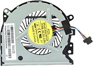 Eathtek Replacement CPU Cooling Fan for HP Pavilion 13-A010dx X360 Envy 15-u 15-u100ng 15-u110dx 15-U111DX 15-U005TX 5-U011D 15-u010dx 15-u483cl Series, Compatible Part Number 779598-001