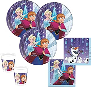 48 piezas Frozen Copos De Nieve Decoración De Fiesta Set - para 16 Niños