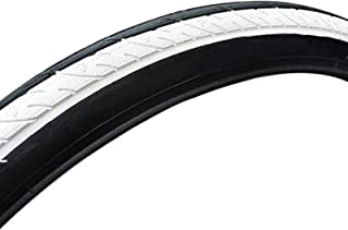 RANRANHOME Ultralätt mountainbike-däck, 26 x 1,5 cykling cykeldäck halkfri slittålig däck, dubbelslitbanemönster färgdäck,...