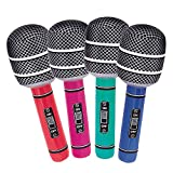 30' Giant Inflatable Microphone, Assorted