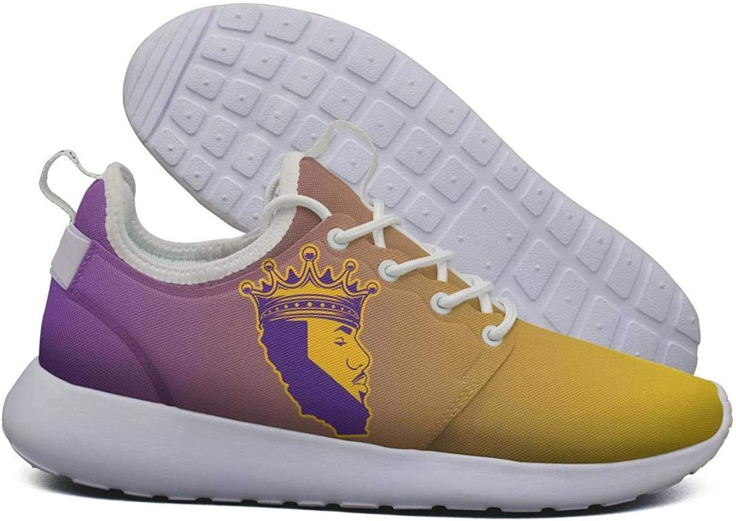 Womens Roshe Two Lightweight LA-Bron-Crown_King_CA map Moustache Beautiful Road Running mesh shoes