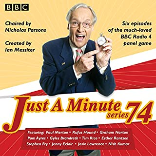 Just a Minute: Series 74 audiobook cover art