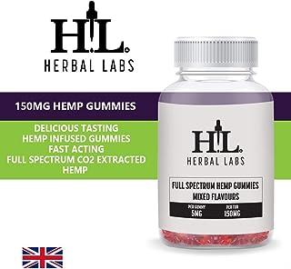 Pure Natural Hemp Spectrum mezclado Gummies saborizados 5MG por Gummy 150MG por botella