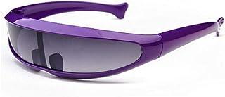 NJJX - Gafas De Sol Para Niños Con Forma De Pez De Estilo Animal Extraterrestre, Gafas Súper Geniales Para Niños, Montura Colorida Para Niñas Y Niños