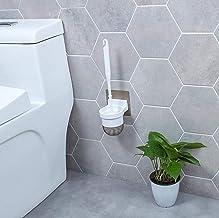 LHQ-HQ Toilet Brush Borstel van het toilet en de beugel Plastic Set Huishouden - WC-borstel de muur gemonteerde vrij punch...