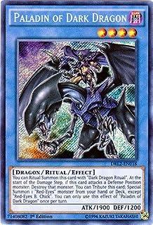 YU-GI-OH! - Paladin of Dark Dragon (DRL2-EN018) - Dragons of Legend 2 - 1st Edition - Secret Rare