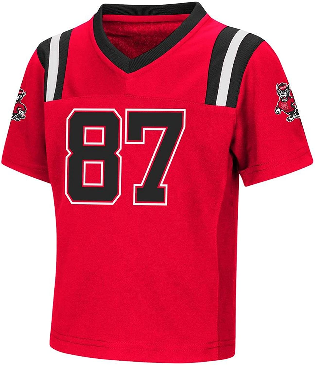 Colosseum Toddler NC State Wolfpack Football Jersey