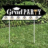 Big Dot of Happiness Law School Grad - Future Lawyer Graduation Party Sign Arrow - Double Sided Directional Yard Signs - Set of 2