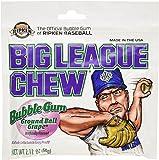 Big League Chew Grape (Pack of 12) - 2.12oz